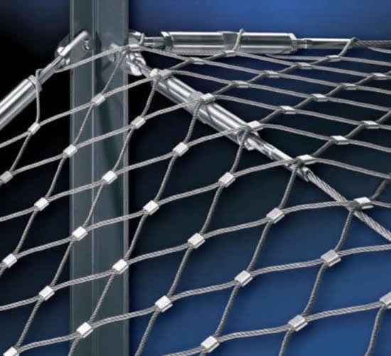 Stainless Steel Cable Mesh Railing Infill